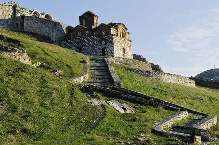 characteristics: byzantine orthodox church in Berat, Albania