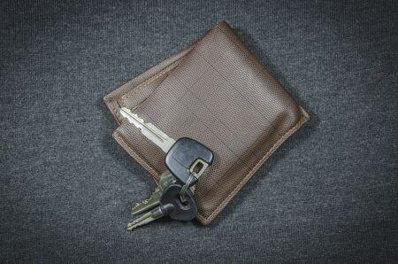 billfold: Wallets and car key
