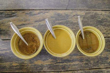 vermicelli: Water of  rice vermicelli thai