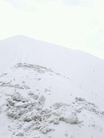 white: White sand Stock Photo