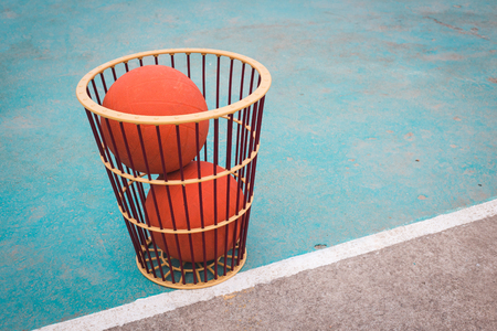 rubber ball: Chairball or Orange Rubber Ball.