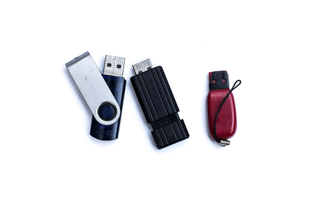 flash drive: Flash Drive on background
