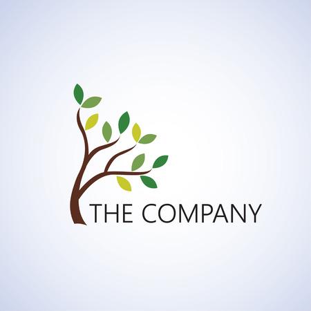 tree logo ideas design vector illustration on background