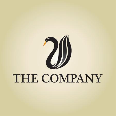 swans: swans ideas design vector illustration on background