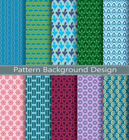 photography backdrop: collection pattern  retro vector geometric background