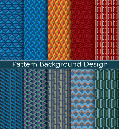 photography backdrop: collection pattern  retro vector color geometric background
