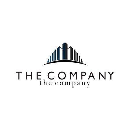 building logo vector illustration on background
