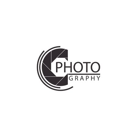 Illustration vectorielle de caméra sur fond