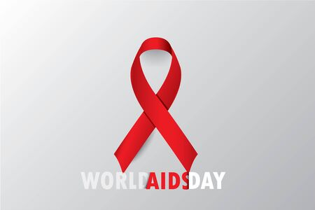 World Aids Day concept Aids Awareness,  Vector illustration
