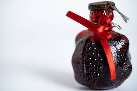 Pomegranate drink as a souvenir.Pomegranate drink as a souvenir Stock fotó