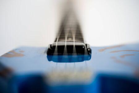 Souvenirs, electric guitar on a white background.Souvenirs, electric guitar on a white background