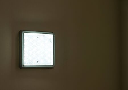 Wall mounted LED diode lamp.Wall mounted LED diode lamp