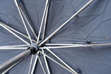 Open umbrella from the inside Stock fotó