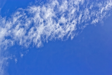 scorching: On the day when the sun is scorching hot and turbulence cloud