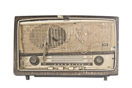 shortwave: Very old radio