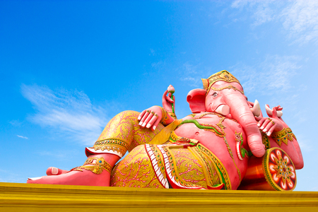 clound: Ganesha, Hindu God and the god of success