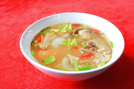 Oxtail soup, the favourite soup south of Thailand