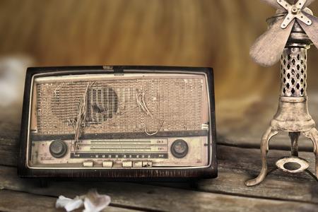 old radio: Classic and old radio