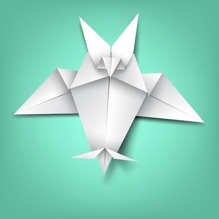 wisdom on bat paper folding