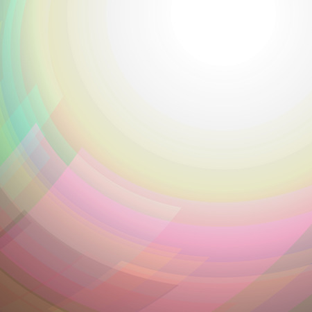 Abstract aura shining circle vector background