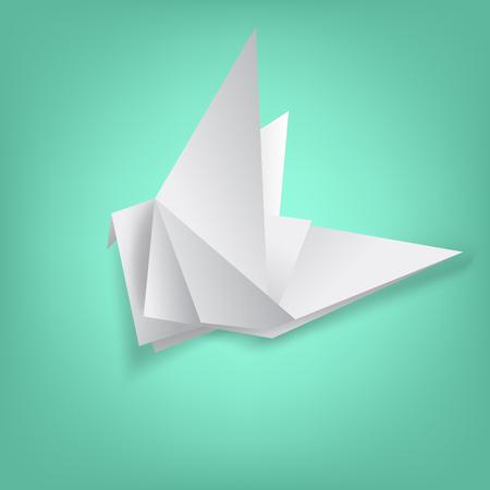 wisdom on bird paper folding