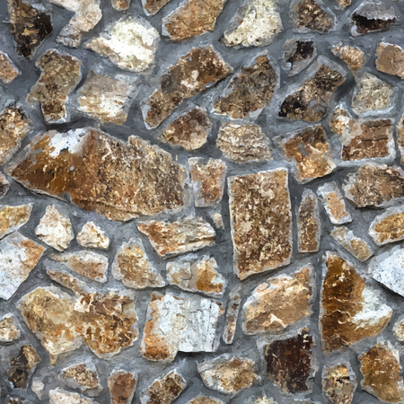 Realistic stone seamless background. Ilustrace