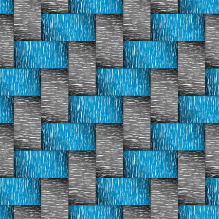 Monochromes and blue tone abstract seamless background on vector art. Vektoros illusztráció