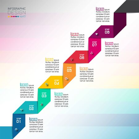 Modern Design template use for infographics, banner, labels.