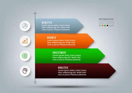 Business work flow infographic template. 版權商用圖片 - 167801923