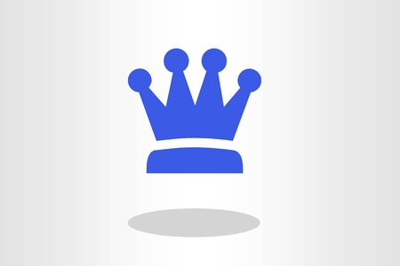 Illustration of crown Stock Photo