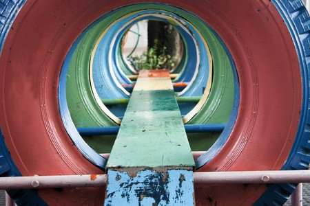 tunnel of tyre