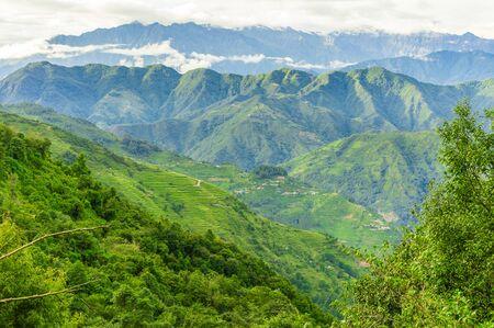Landscape of Sindhupalchok nepal Stock fotó