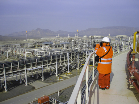 Oil & gas processing plant
