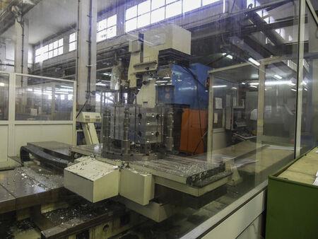 cnc machine: CNC machine Stock Photo