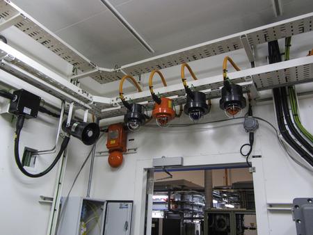 alarm system: Fire & gas, emergency alarm system