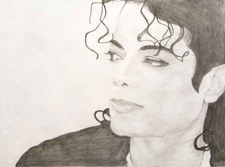 michael: Michael Jackson Pencil Sketch