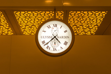 Big size clock Ulysse Nardin make at the Airport