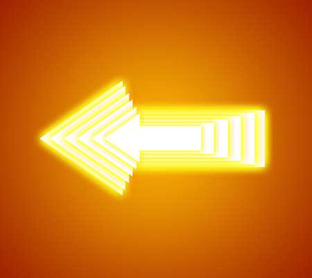 abstract  arrow icon vector illustration Stock Photo