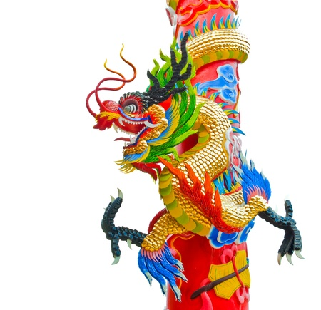 Chinese style dragon statue with 2012 Stock Photo - 10831064