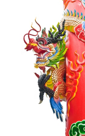 Chinese style dragon statue with 2012 Stock Photo - 10831093