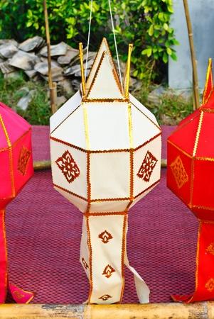 lanna: thai lanna lantern Stock Photo
