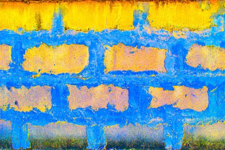 abstract cement wall