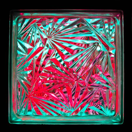 color of glass block