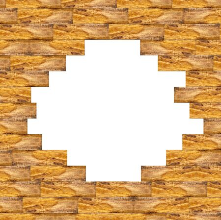 Frame wood photo
