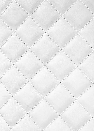 tissu blanc: fond en cuir Banque d'images
