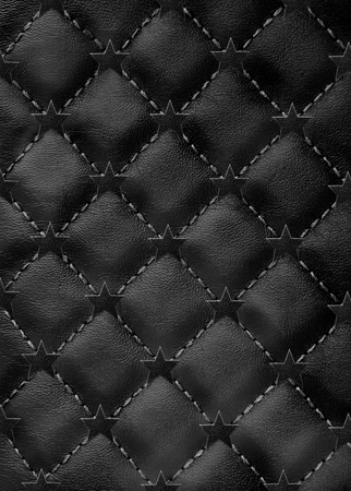 star  leather background Stock Photo - 12003384