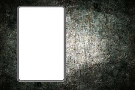 Empty advertisement photo