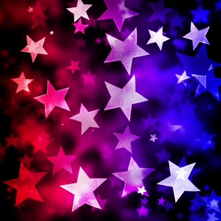 ABSTRACT STAR BACKGROUND Stock Photo - 13733355