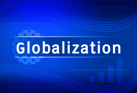 business background globalization Stock Photo - 13942779