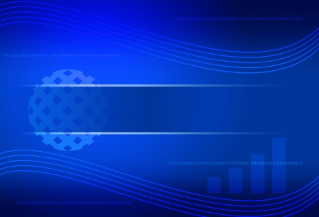 blue color of business background  photo